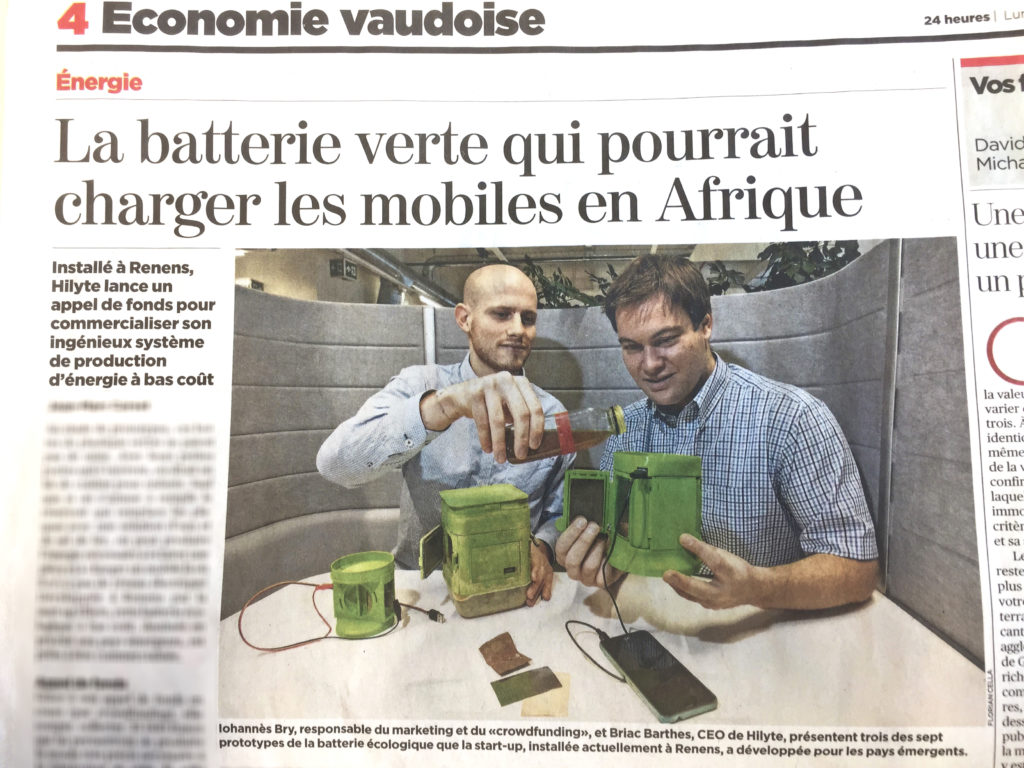 24heures batterie verte hilyte power crowdfunding